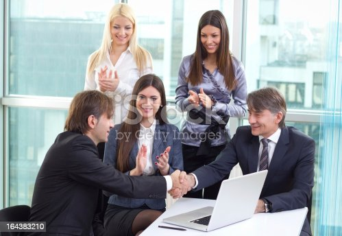 639200924 istock photo Group of business people 164383210