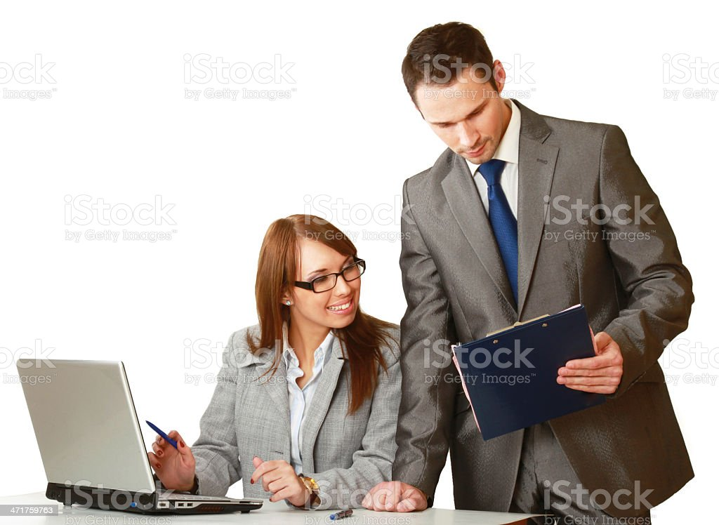group of business people working together royalty-free stock photo