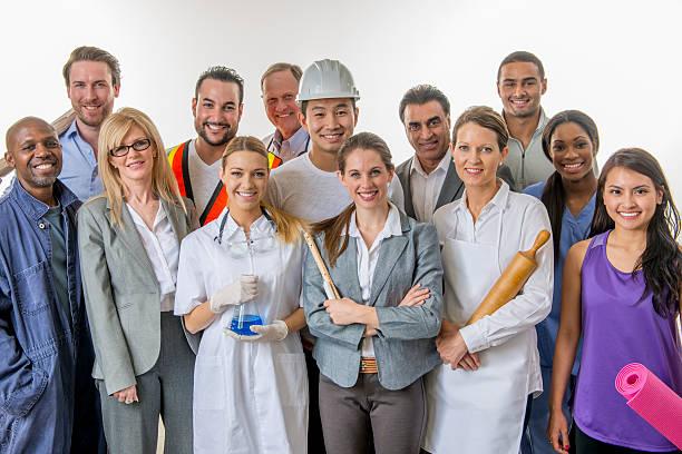 Groupe de professionnels - Photo