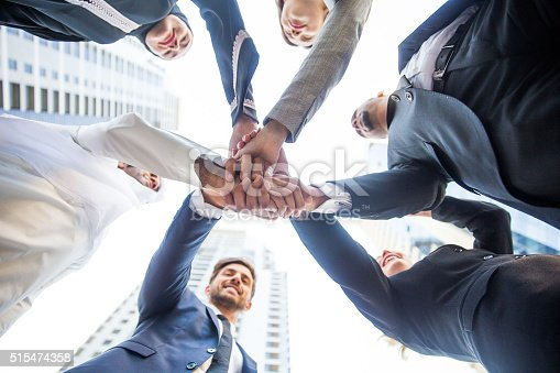 istock Group of Business Team 515474358