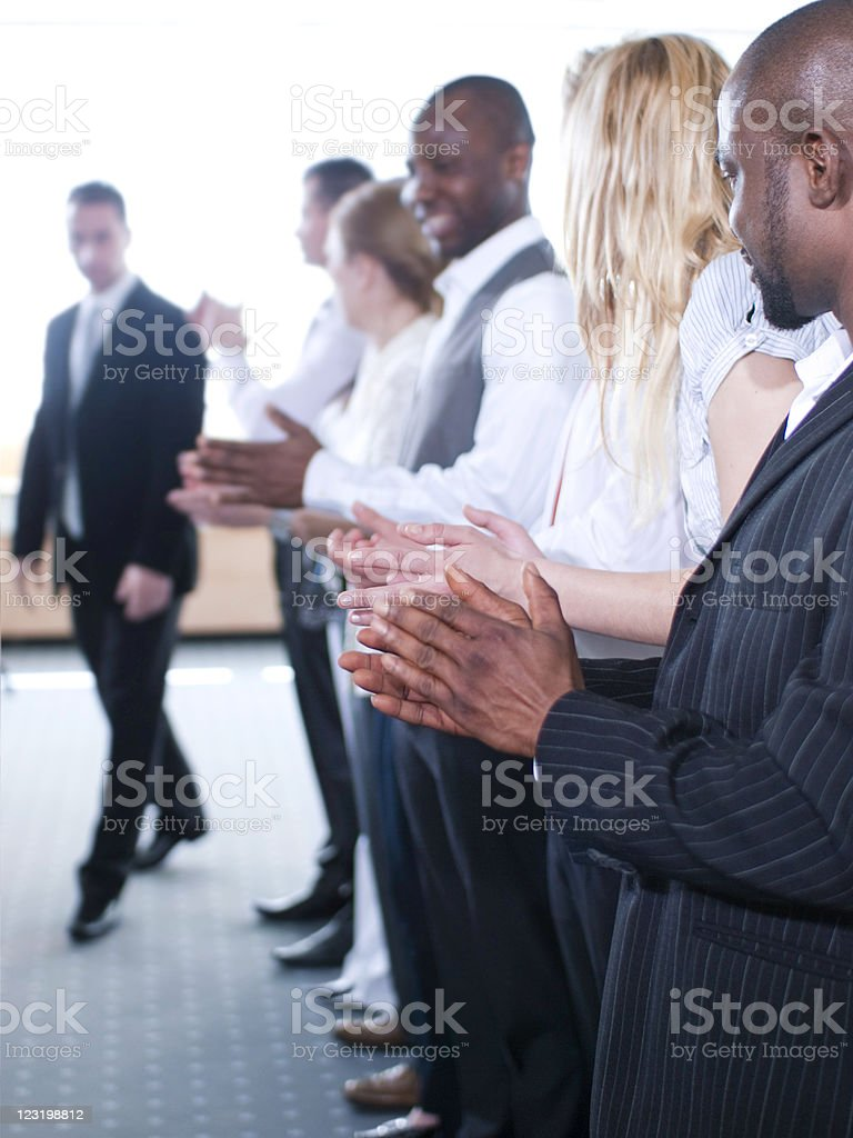 Group of businesspeople royalty-free stock photo