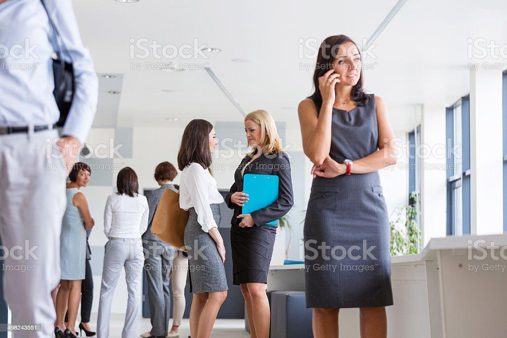 Group of businesswomen stock photo