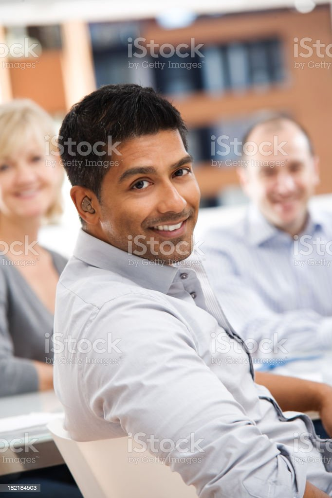 Group of Casual Business People stock photo