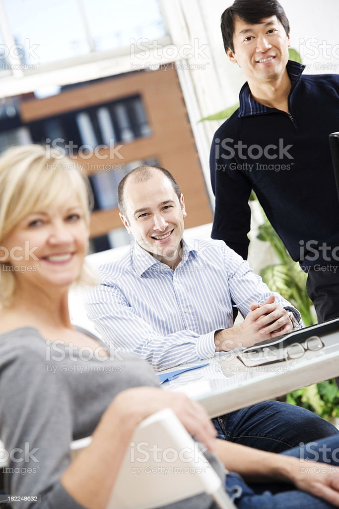 Group of Casual Business People royalty-free stock photo