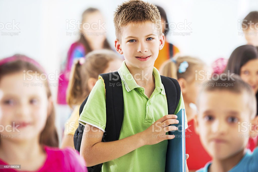 Group of children. royalty-free stock photo