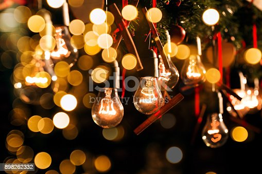 1137999886 istock photo Group of Christmas lamps 898262332