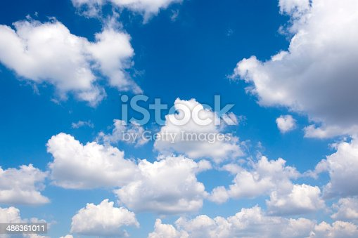 istock Group of clouds 486361011