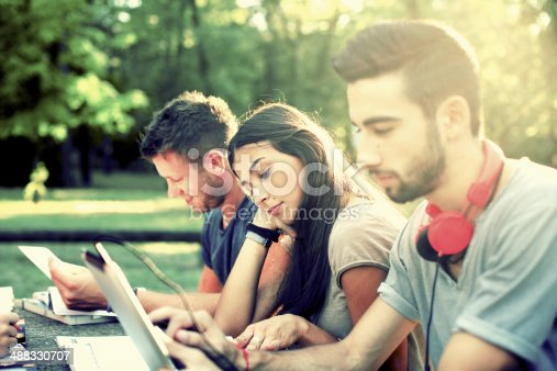 1043434558 istock photo Group of college students 488330707