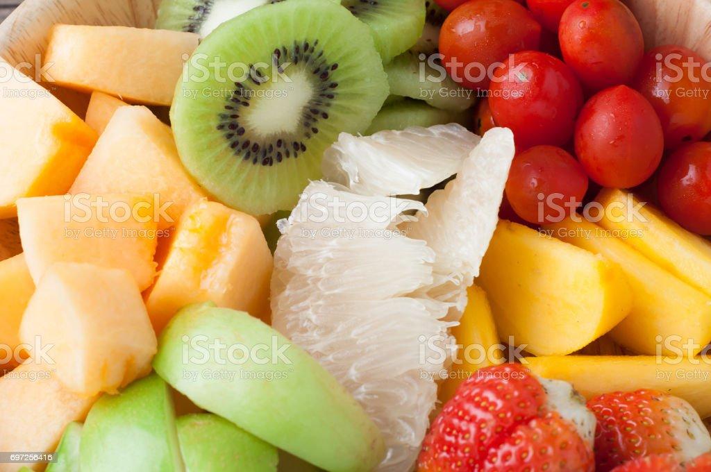 ensalada de frutas para dieta