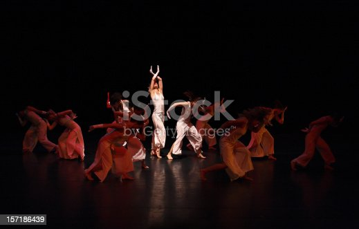 Contemporary dance theater performance.