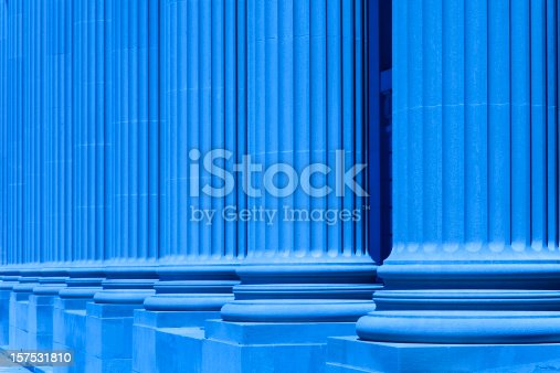 istock group of corporate blue business columns 157531810