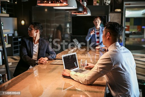 istock Group of coworker having meeting and discussion 1149838949