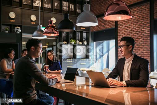 istock Group of coworker having meeting and discussion 1149839808