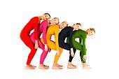 Group of dancers posing