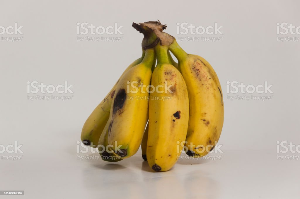 Group of delicious bananas royalty-free stock photo