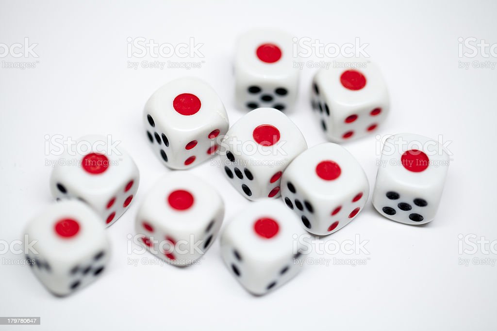 group of dice royalty-free stock photo