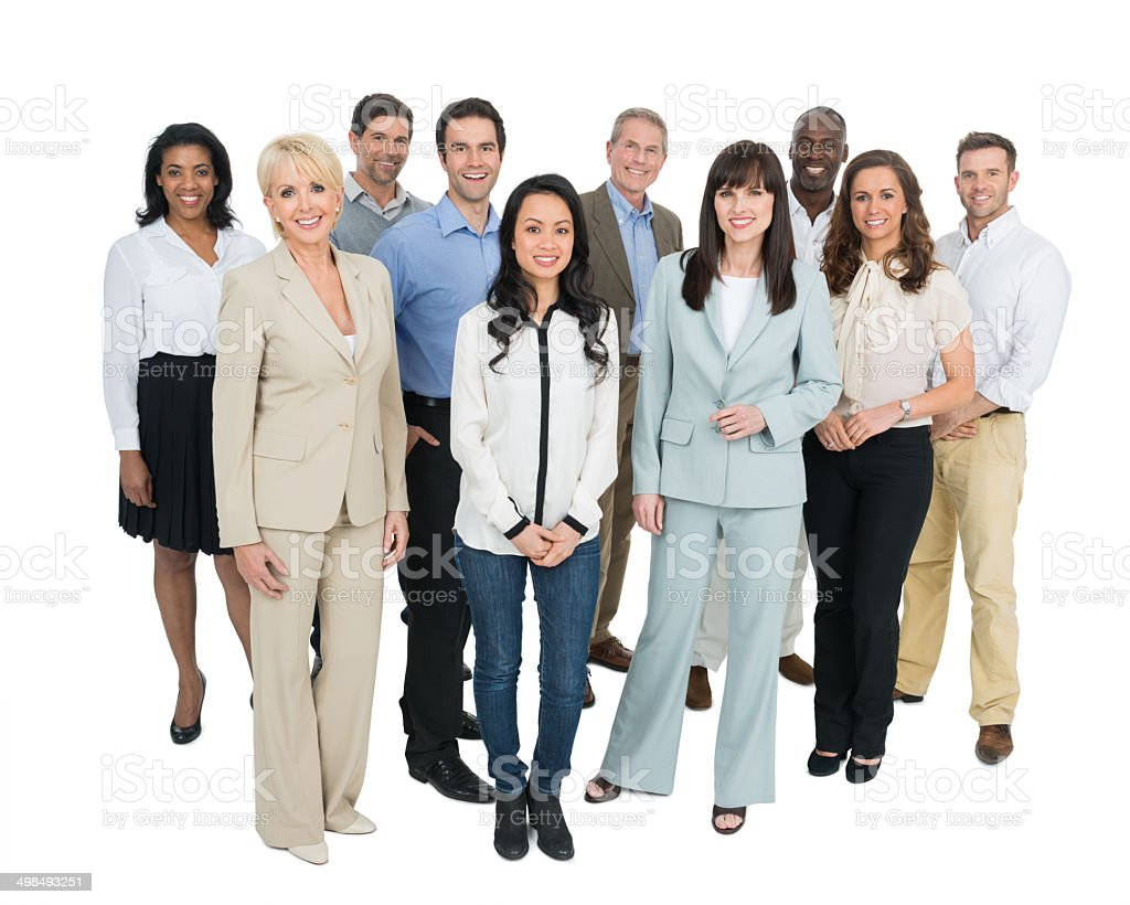 Group Of Diverse Businesspeople stock photo