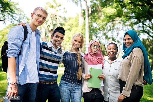 istock A group of diverse teenagers 869174600
