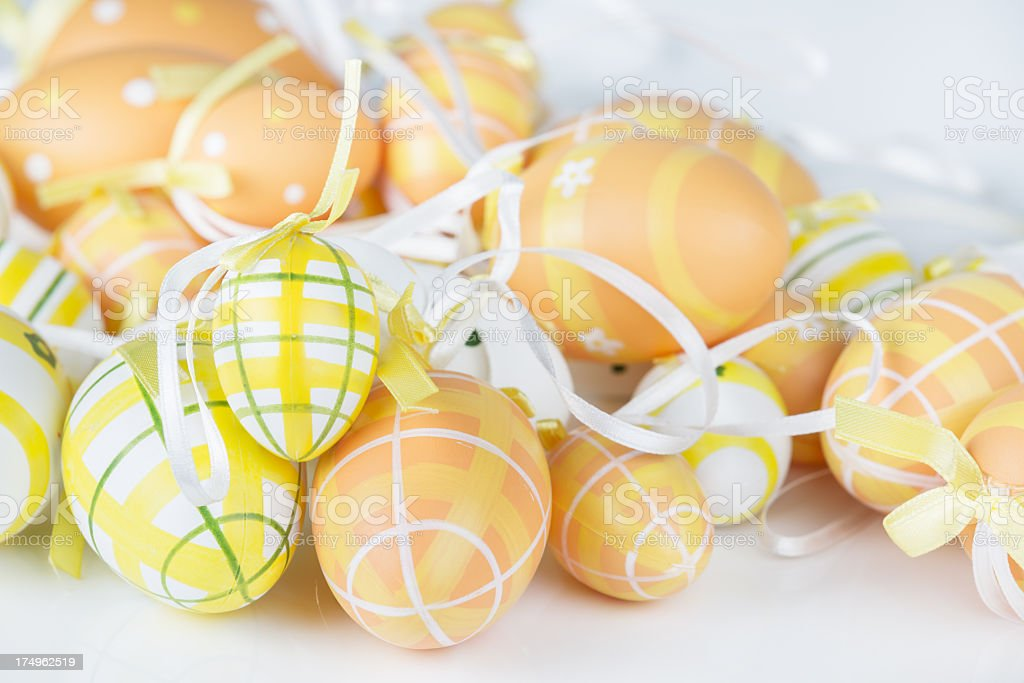 Group of easter egg royalty-free stock photo