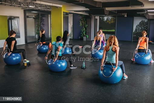1195045259istockphoto Group Of Fit Women Exercising With Pilates Ring 1195045902