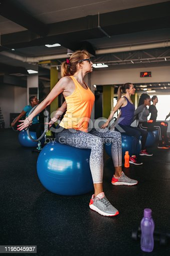 1195045259istockphoto Group Of Fit Women Exercising With Pilates Ring 1195045937