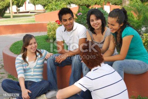 862201618 istock photo Group of friends having fun (series II ) 157477129