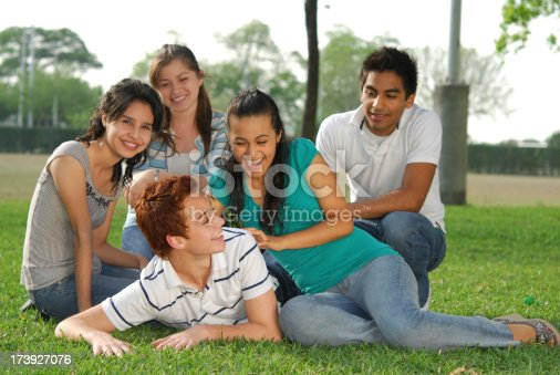 862201618 istock photo Group of friends having fun (series  ) 173927076