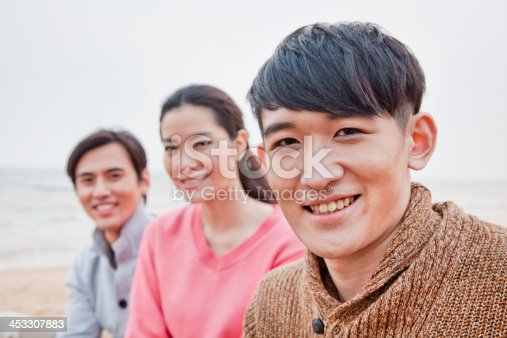 453383283 istock photo Group of Friends on the Beach 453307883