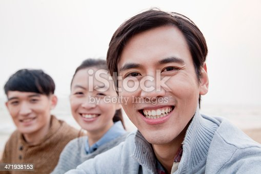 453383283 istock photo Group of Friends on the Beach 471938153