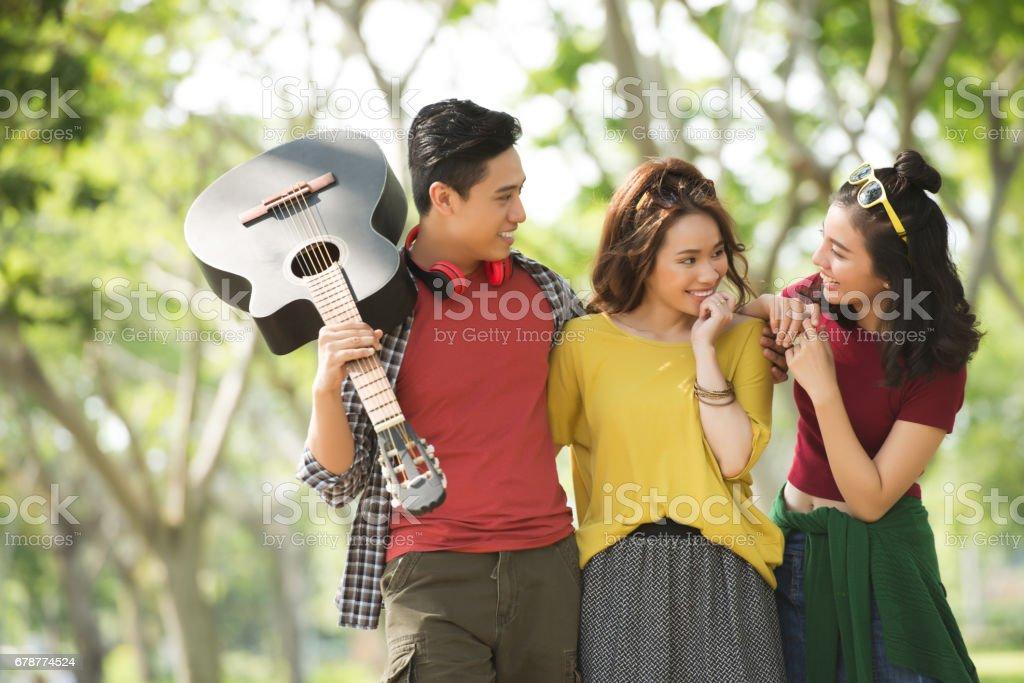 Group of friends photo libre de droits