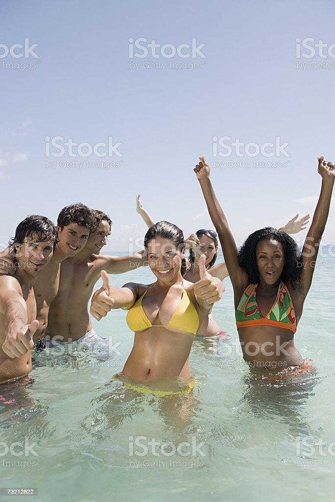 Grupo de amigos foto de stock royalty-free