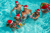 Pool Party For Christmas.