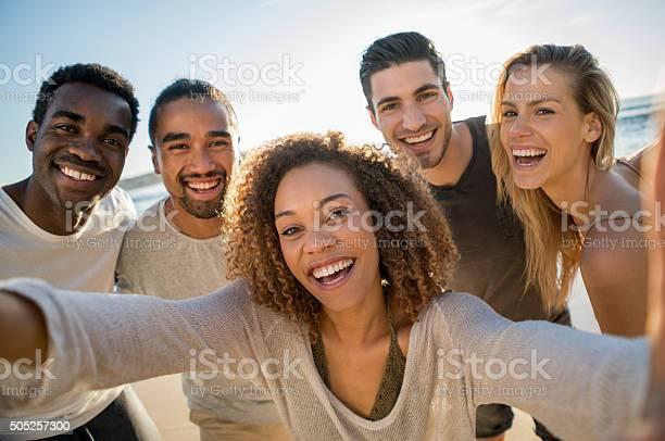 Group of friends taking a selfie outdoors picture id505257300?b=1&k=6&m=505257300&s=612x612&h=arwjgxj1hkte2xpksxeyyl78fme5ykdcyv80gfyytky=