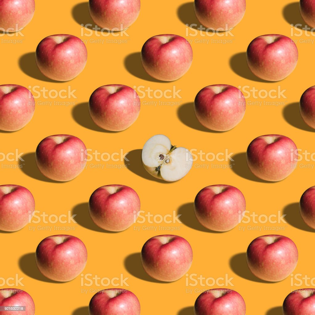 Group of fruits backgrounds template stock photo