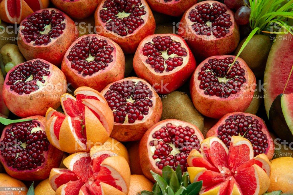 Meyve grubu stok fotoğrafı