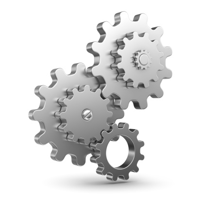 istock Group of Gear 452635831