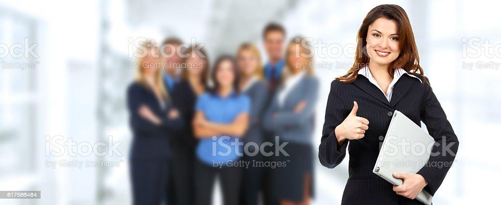 Gruppe von glückliche Unternehmen Menschen. – Foto