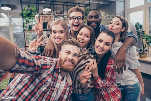Group of happy cheerful best friends making selfie picture id942209974?b=1&k=6&m=942209974&s=612x612&h=ra8egl lyh 5ycfcl iztxc80qurkf6i7ymxe8skbss=