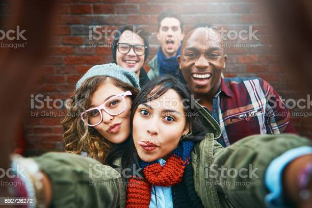 Group of happy friends take selfie outdoors picture id892726272?b=1&k=6&m=892726272&s=612x612&h=1 bcyv2mr730pv0skibfxnsctybnainzffx3sm4iyzu=