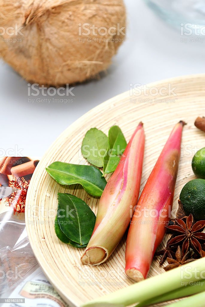 group of herbs royalty-free stock photo