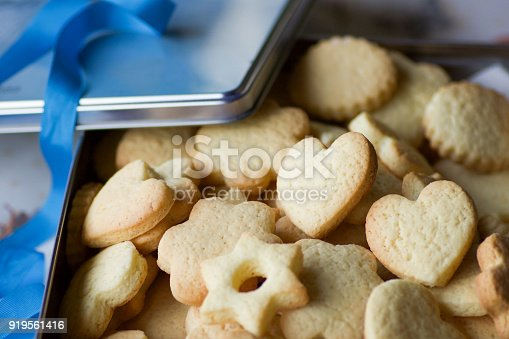istock group of homemade pastry biscuits in a metal box 919561416