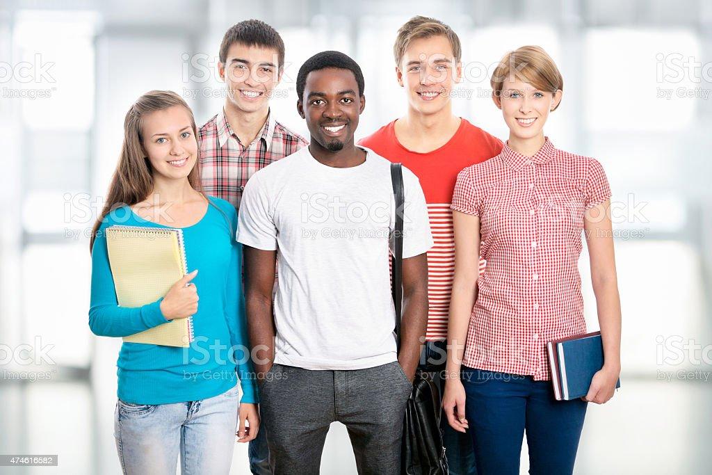 Gruppe von Internationale Studenten – Foto