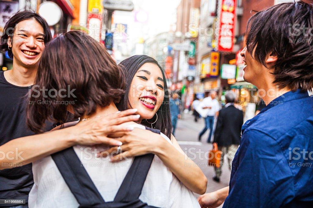 Meet japanese friends