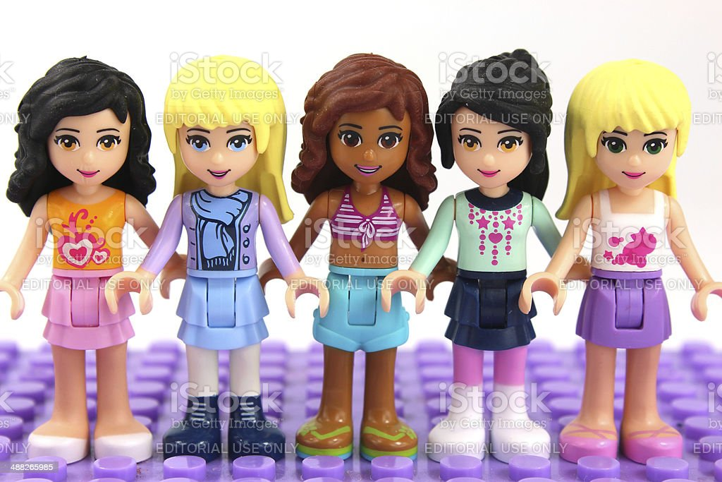 Group Of Lego Friends Mini Figures Toys Stock Photo & More ...