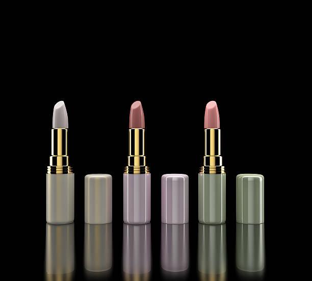 Gruppe von Lippenstifte.   Make-up.   Kosmetik – Foto
