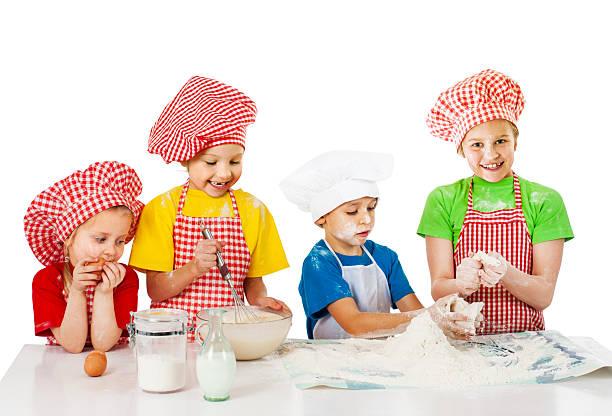 Gruppe von little bakers
