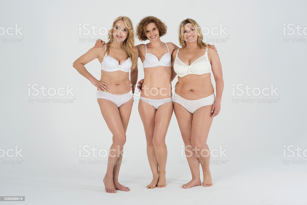Group Of Mature Women In Underwear Stock Photo Download Image Now Istock