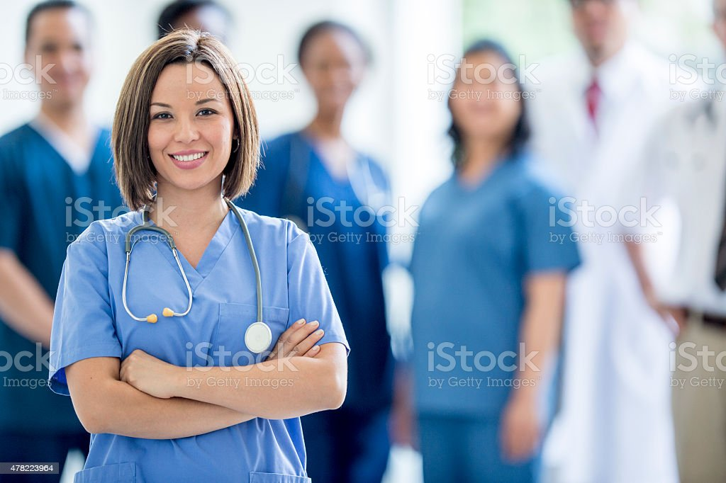 Group of Medical Professionals stock photo