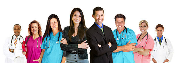 Group Of Medical Proffessionals stock photo