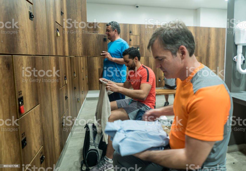 Mens shower room adult
